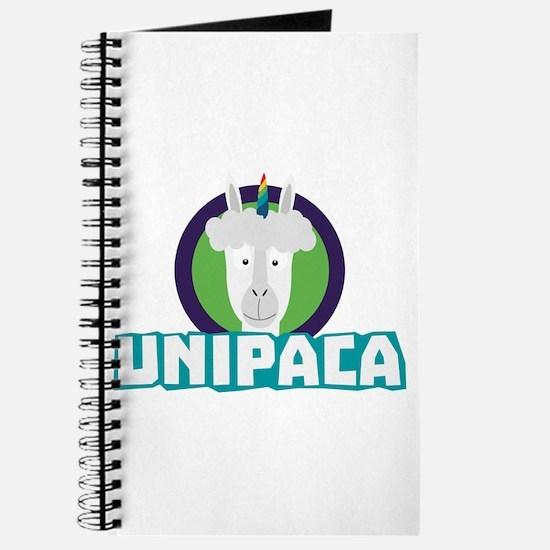 Unipaca Unicorn Alpaca C67aj Journal