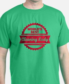 World's best cleaning lady T-Shirt