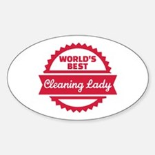 World's best cleaning lady Decal