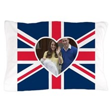 Princess Charlotte Will Kate Pillow Case