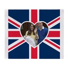 Princess Charlotte Will Kate Throw Blanket
