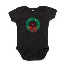 Deck The Halls Baby Bodysuit