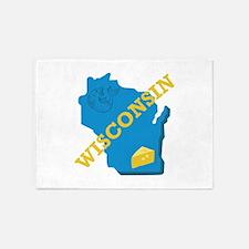 Wisconsin 5'x7'Area Rug