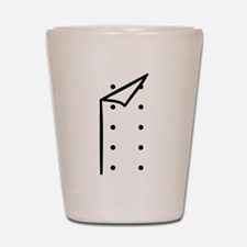 Chef uniform Shot Glass