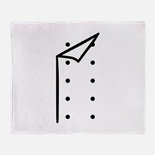 Chef uniform Throw Blanket