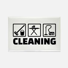 Cleaning housekeeping Rectangle Magnet