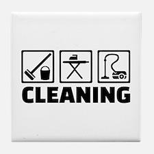 Cleaning housekeeping Tile Coaster