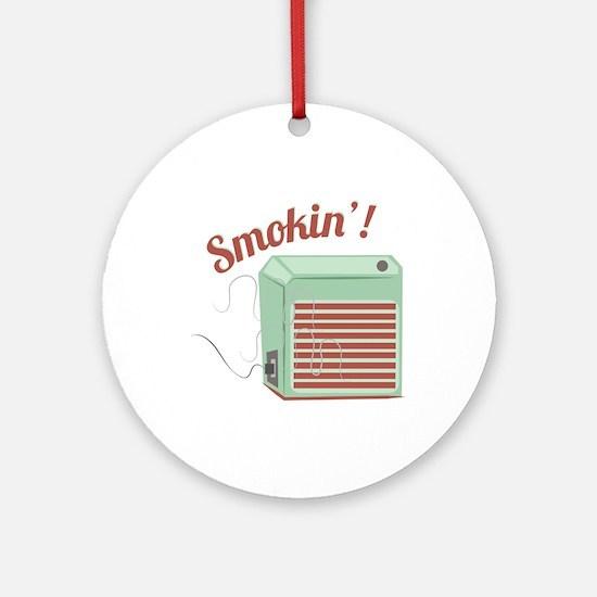 Smokin Ornament (Round)