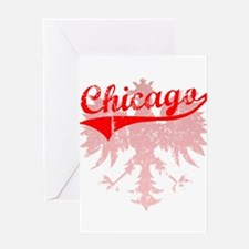 Chicago Polish w/Eagle Greeting Card