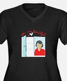 You Are Beautiful Plus Size T-Shirt