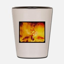 Dragon Fire Dancer Shot Glass