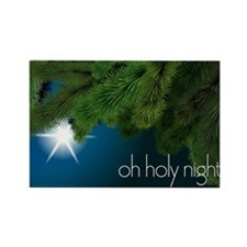Oh Holy Night Christmas Star Magnets