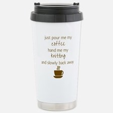 Just Pour Me My Coffee, Travel Mug