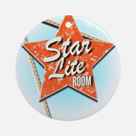 Vintage Hollywood, Star Lite Room Ornament (Round)