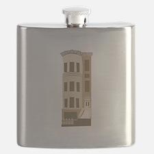 Brown Stone Flask