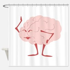 Humorous Brain Shower Curtain