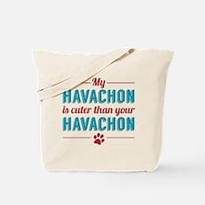 Cuter Havachon Tote Bag