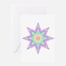 Native Stars Greeting Card