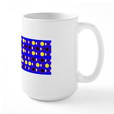 Blue Ebony Yellow Shapes Jerome's Fave Mugs