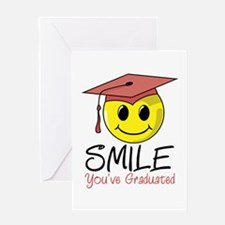 Smile, You've Graduated Greeting Card
