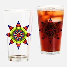 Native Stars Drinking Glass