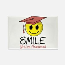 Smile, You've Graduated Rectangle Magnet