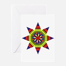Native Stars Greeting Card