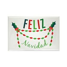 Feliz Navidad Magnets