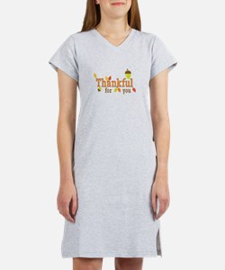 Thankful For You Women's Nightshirt