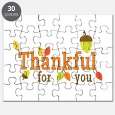 Thankful For You Puzzle