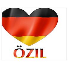 I Heart Ozil Poster
