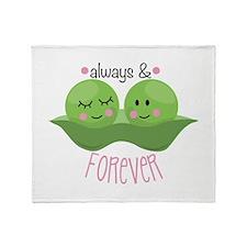 Always & Forever Throw Blanket