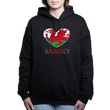 I Heart Ramsey Women's Hooded Sweatshirt