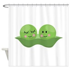 Peas In Pod Shower Curtain