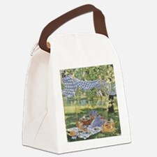Somewhere in Time Canvas Lunch Bag