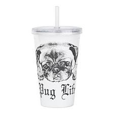 Pug Life 2 Acrylic Double-wall Tumbler