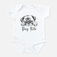 Pug Life 2 Infant Bodysuit