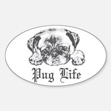 Pug Life 2 Decal
