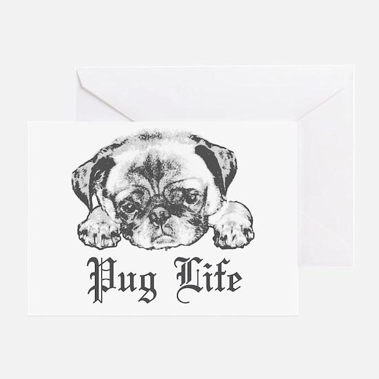 Pug Life 2 Greeting Card