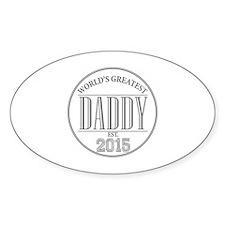 Greatest Daddy 2015 Decal