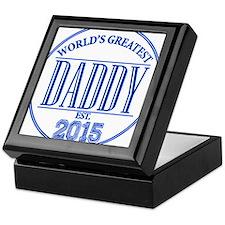 Greatest Daddy 2015 Keepsake Box