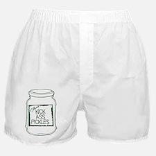 Kick Ass Pickle Jar Boxer Shorts