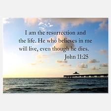 JOHN 11:25 VERSE Invitations