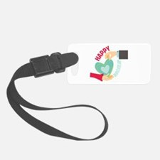 Happy Anniversary Luggage Tag