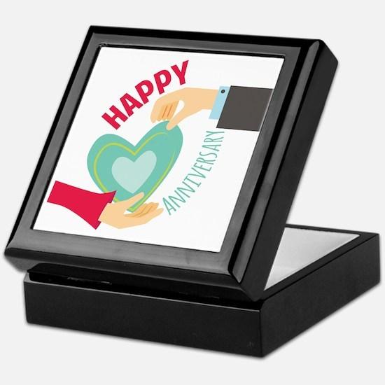 Happy Anniversary Keepsake Box