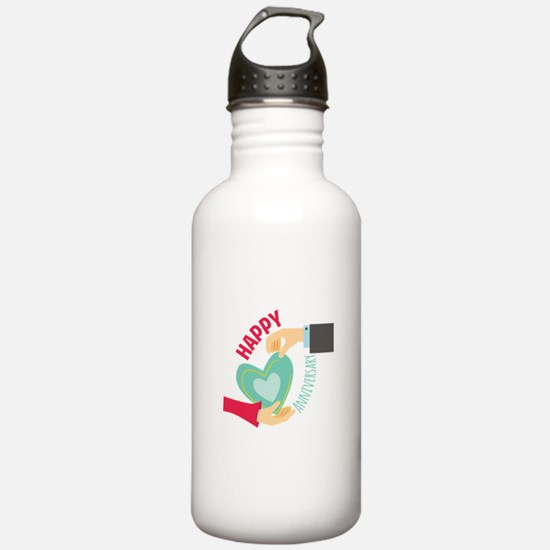 Happy Anniversary Water Bottle