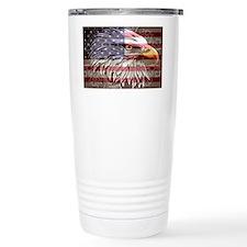 patriotic eagle Travel Mug