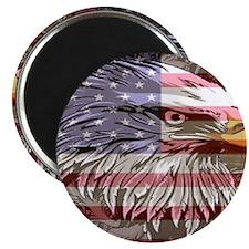 patriotic eagle Magnet