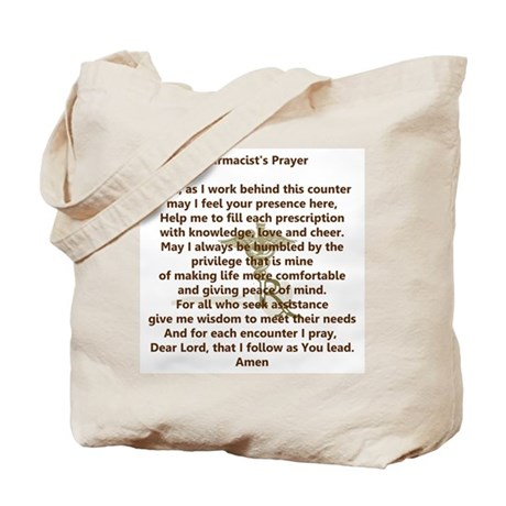 Pharmacist's Prayer Tote Bag
