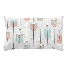 Bohemian Tribal Arrows Pattern Pillow Case